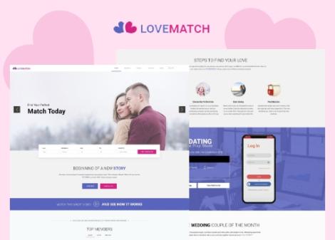 LoveMatch Theme