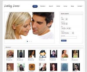 Premium dating wordpress themes