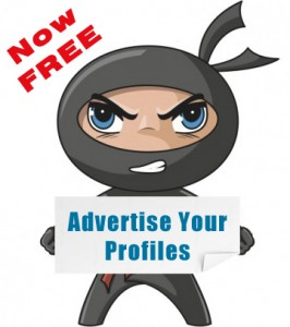 Advertise Profiles for Free