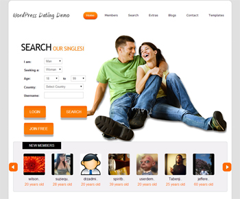 WordPress Dating Plugin 4.8