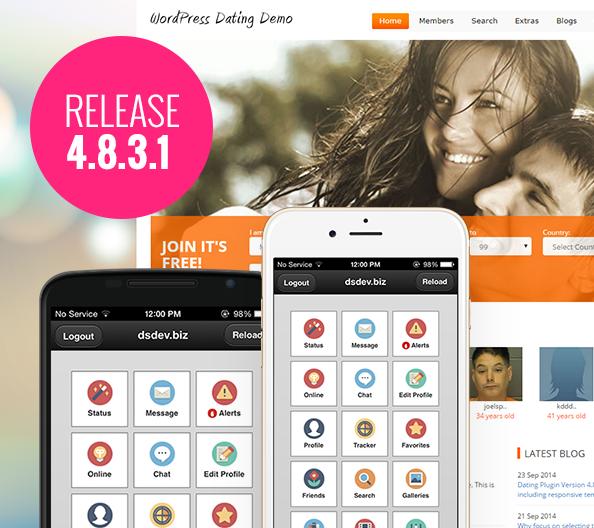 Wordpress dating software