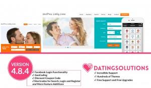 WordPress Dating Plugin 4.8.4 Release Banner