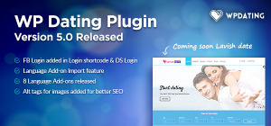 wp dating plugin 5.0 released