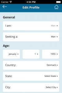 Edit Profile Page