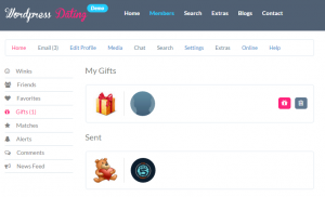 Delete Gifts