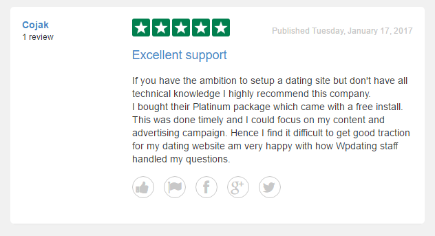 Dating site with good reviews