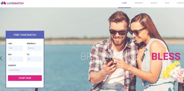 Premium dating wordpress teme
