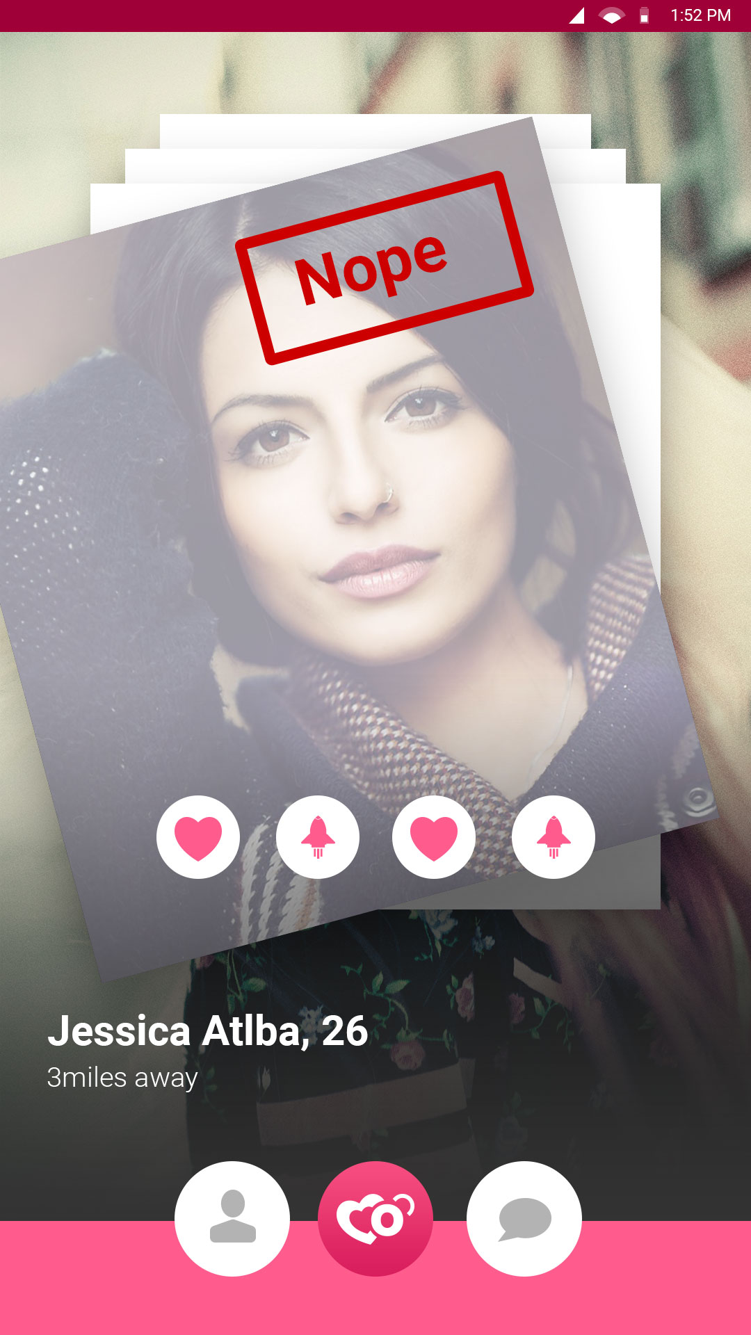 Mobile Dating-App-Vorlage icrushes Dating-Website
