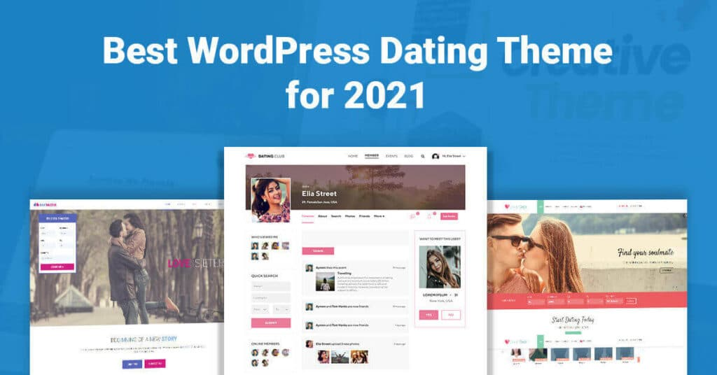 Wordpress dating theme