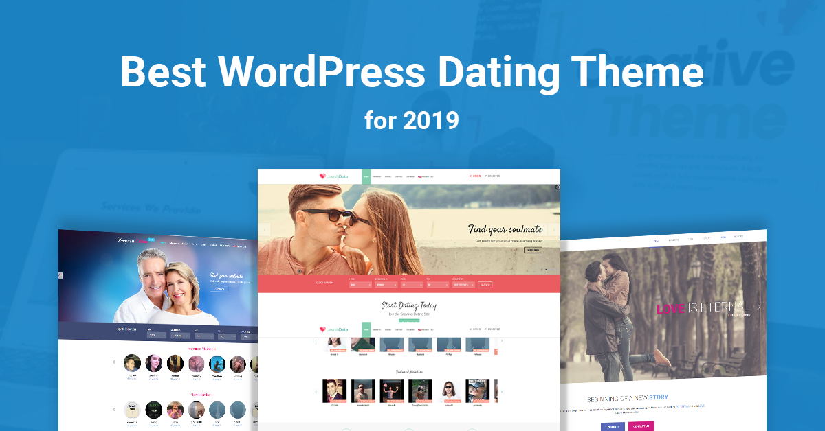 Best WordPress Dating Theme 2019