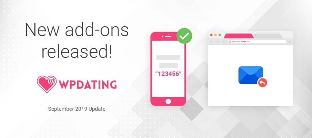 SMS verification addon