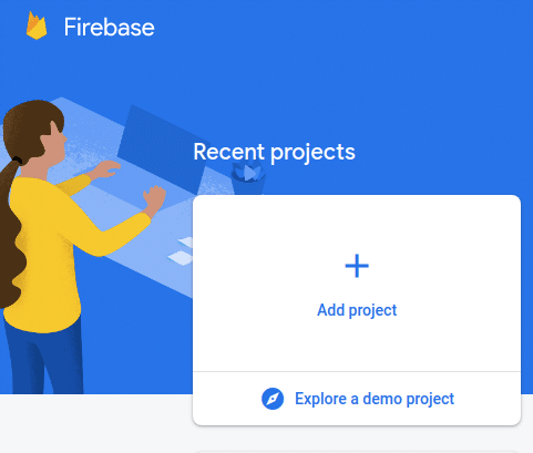 Firebase-Console-Project