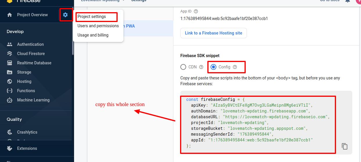Firebase-Project-Configuration-Script