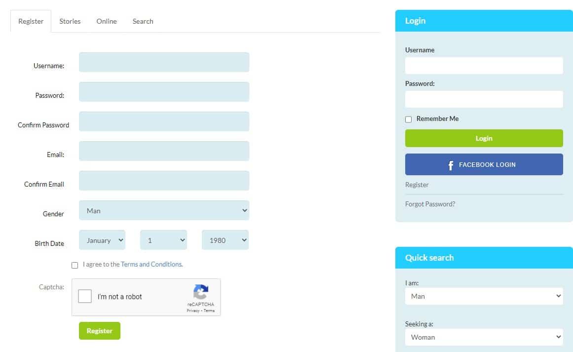 Simple-registration