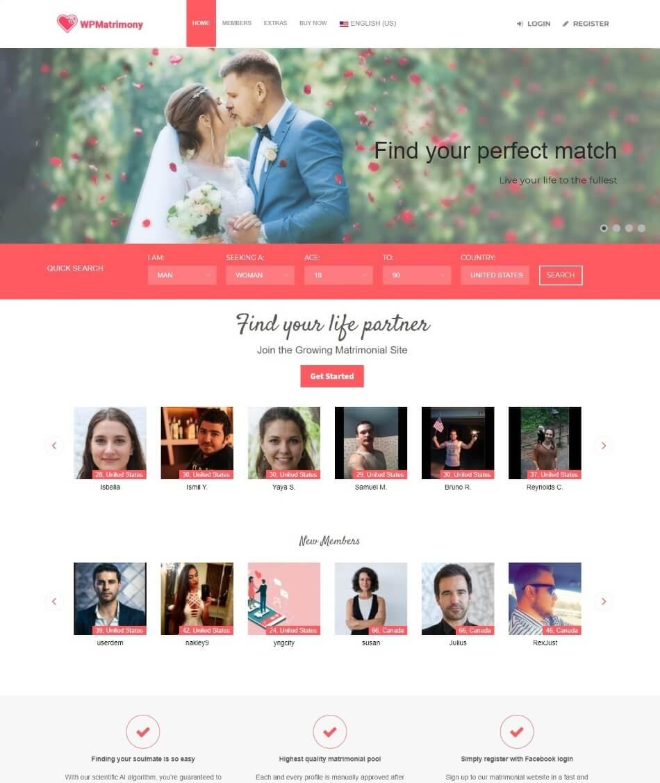 WP-Matrimony-theme-demo-page