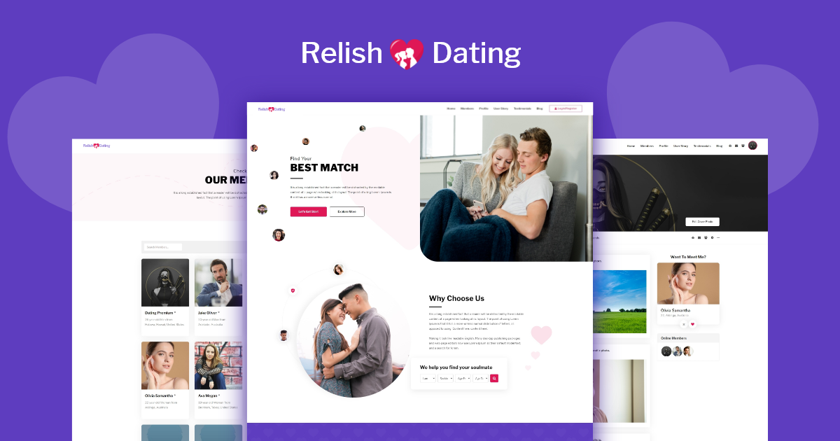 Relish-dating-theme-released