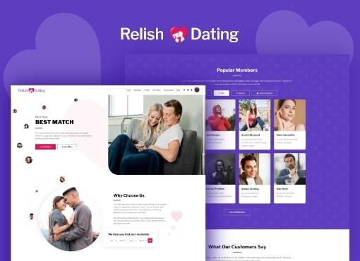 Relish Dating Theme